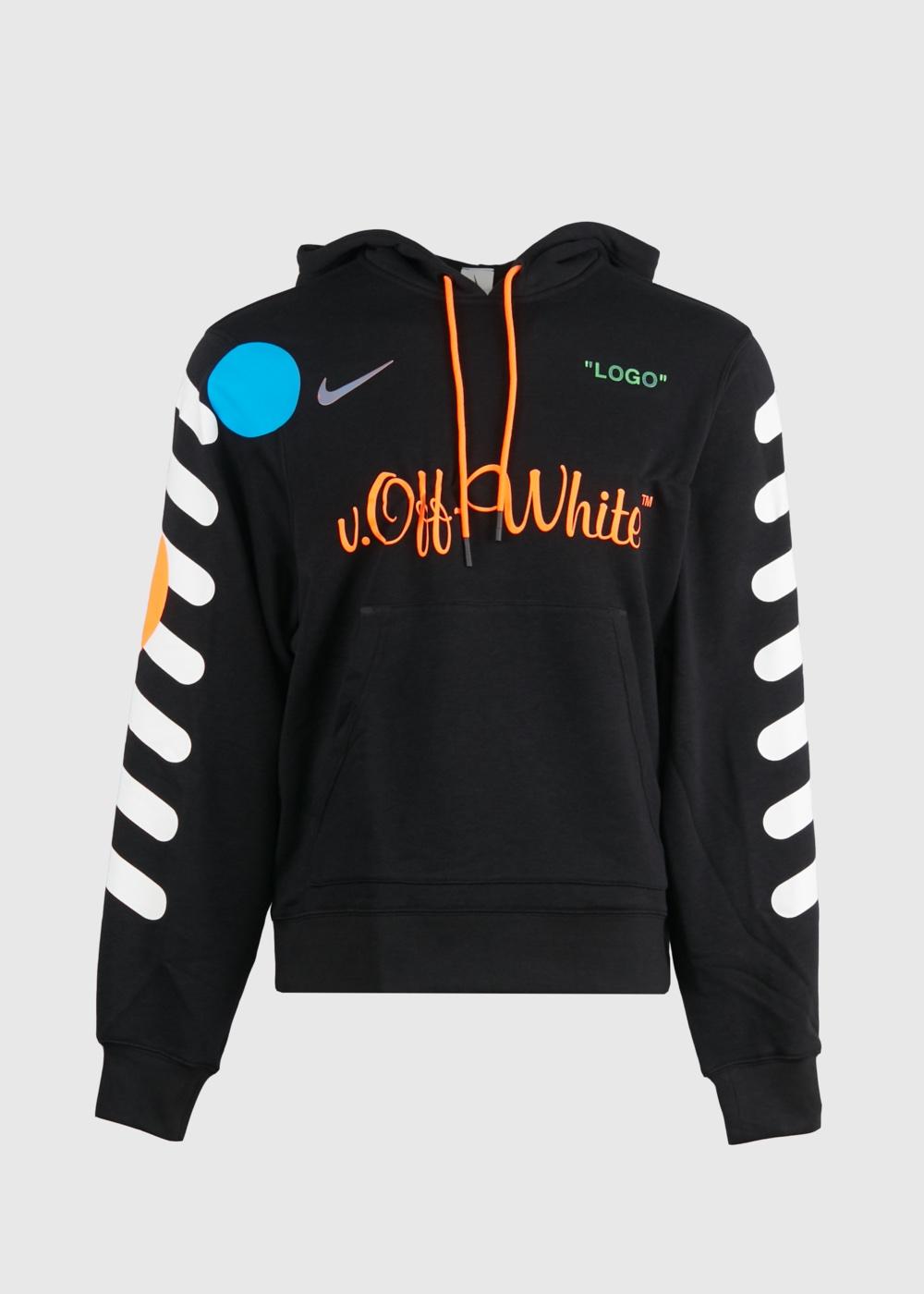 felpa nike hoodie x off white