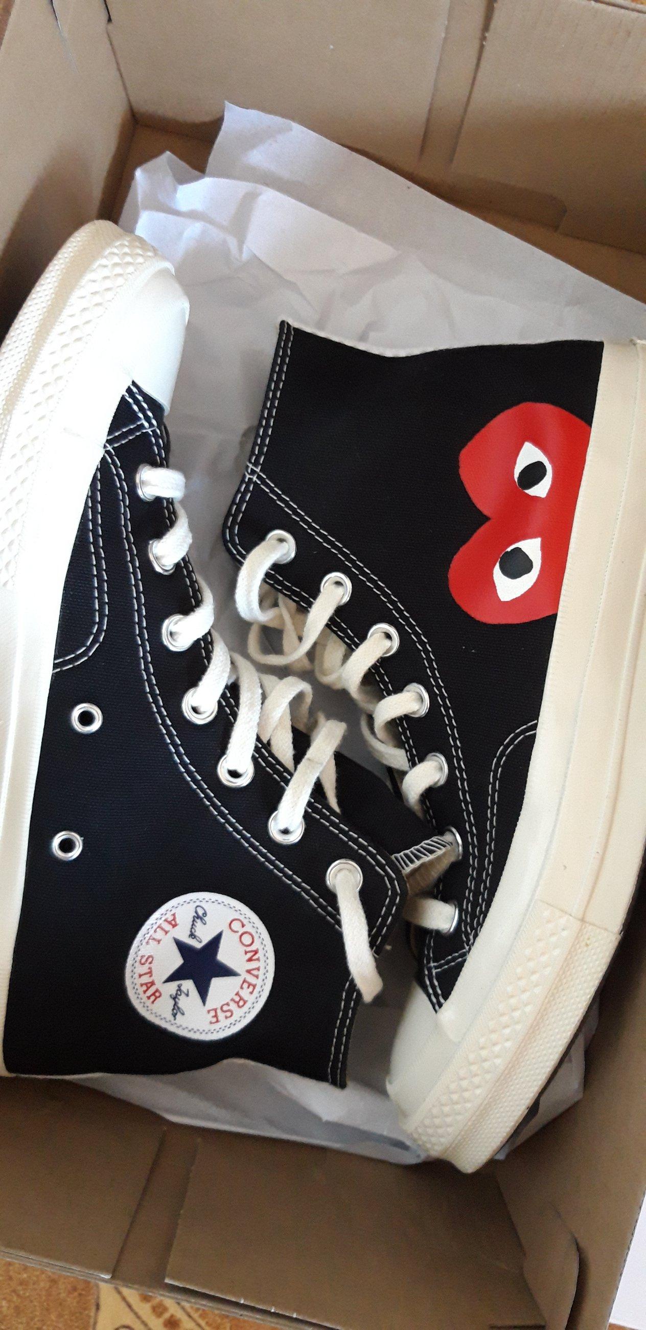 comme des garcons scarpe converse originali