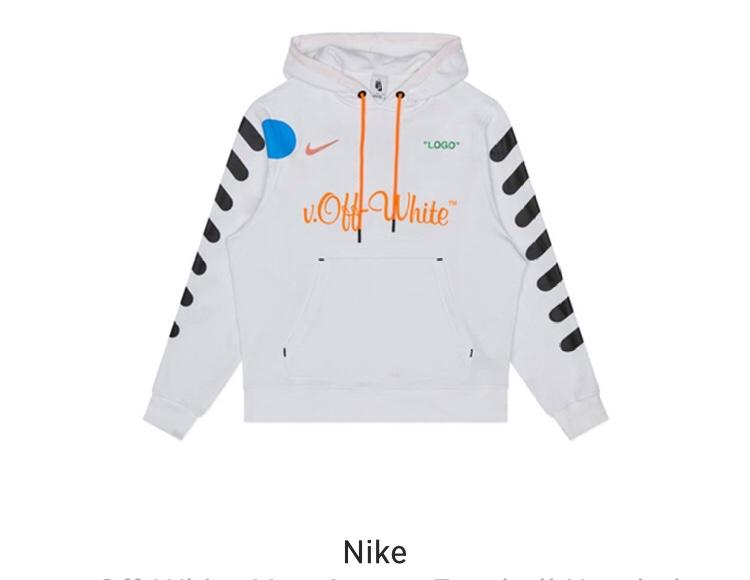 felpa nike x off white logo