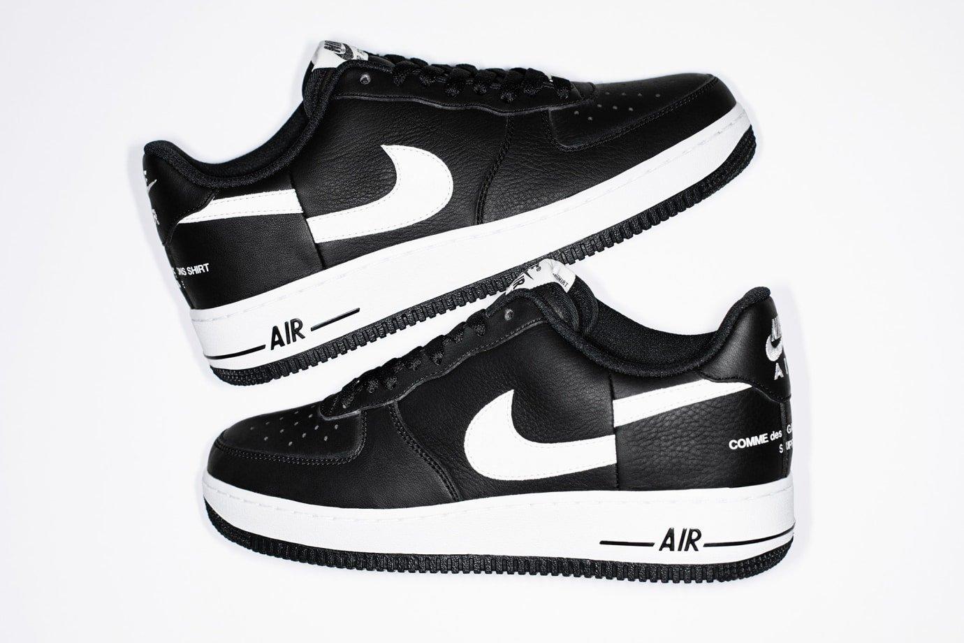 Supreme x COMME des GARÇONS SHIRT x Nike Air Force 1 Low