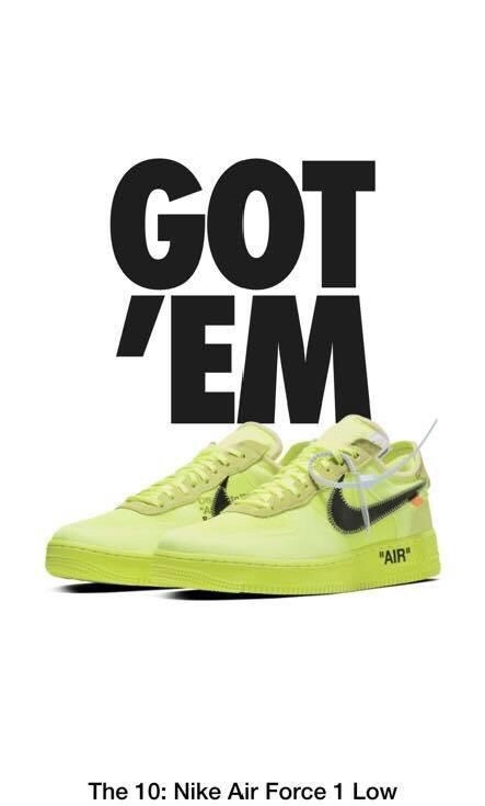 WTS Air Force x OFF White Volt 12 US 46 Meetapp