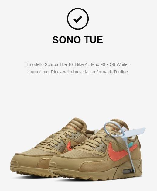 """Nike air max 90 x off white """"desert one"""" Meetapp"""
