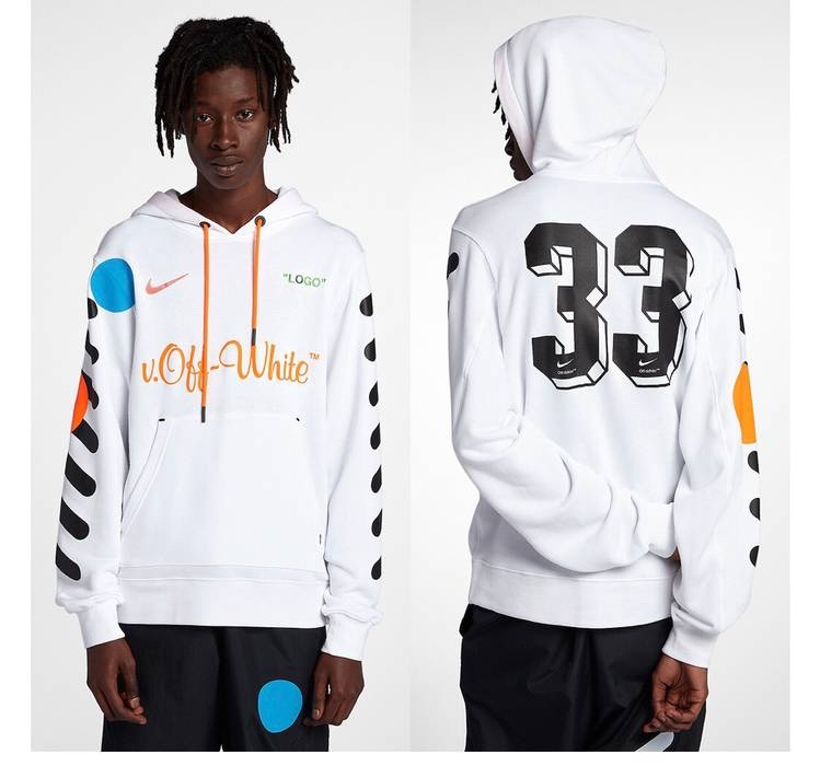 codice promozionale cd270 5fea9 WANT TO BUY (COMPRO) Hoodie Felpa Nike x Off White Bianca L ...
