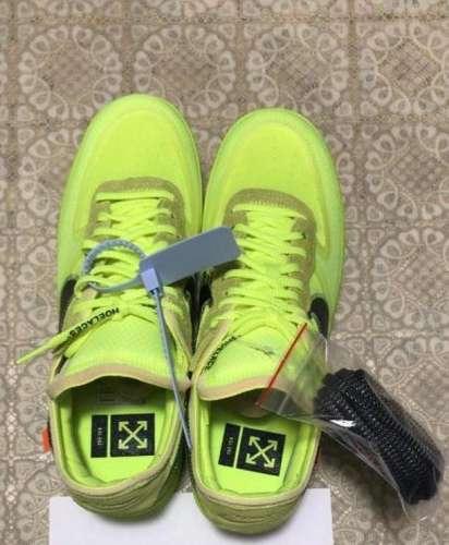 Legit Check Nike Air Force 1 x Off White VOLT Meetapp