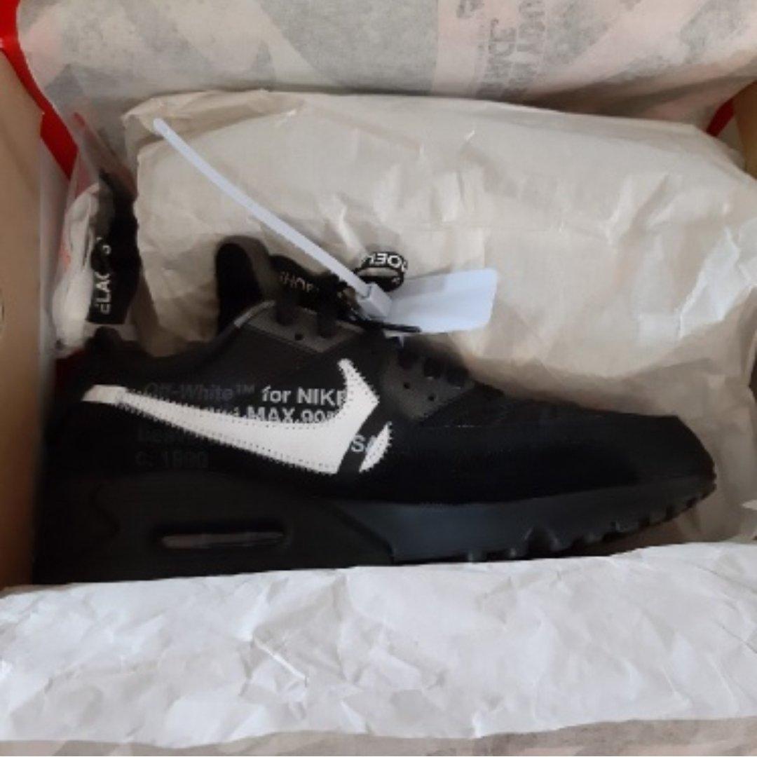 Nike air max 90 off white black Meetapp
