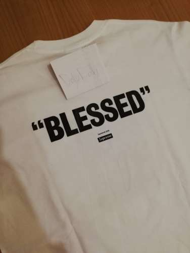 ed2b479fc98e Wts supreme blessed tee fw18 Wts supreme blessed tee fw18