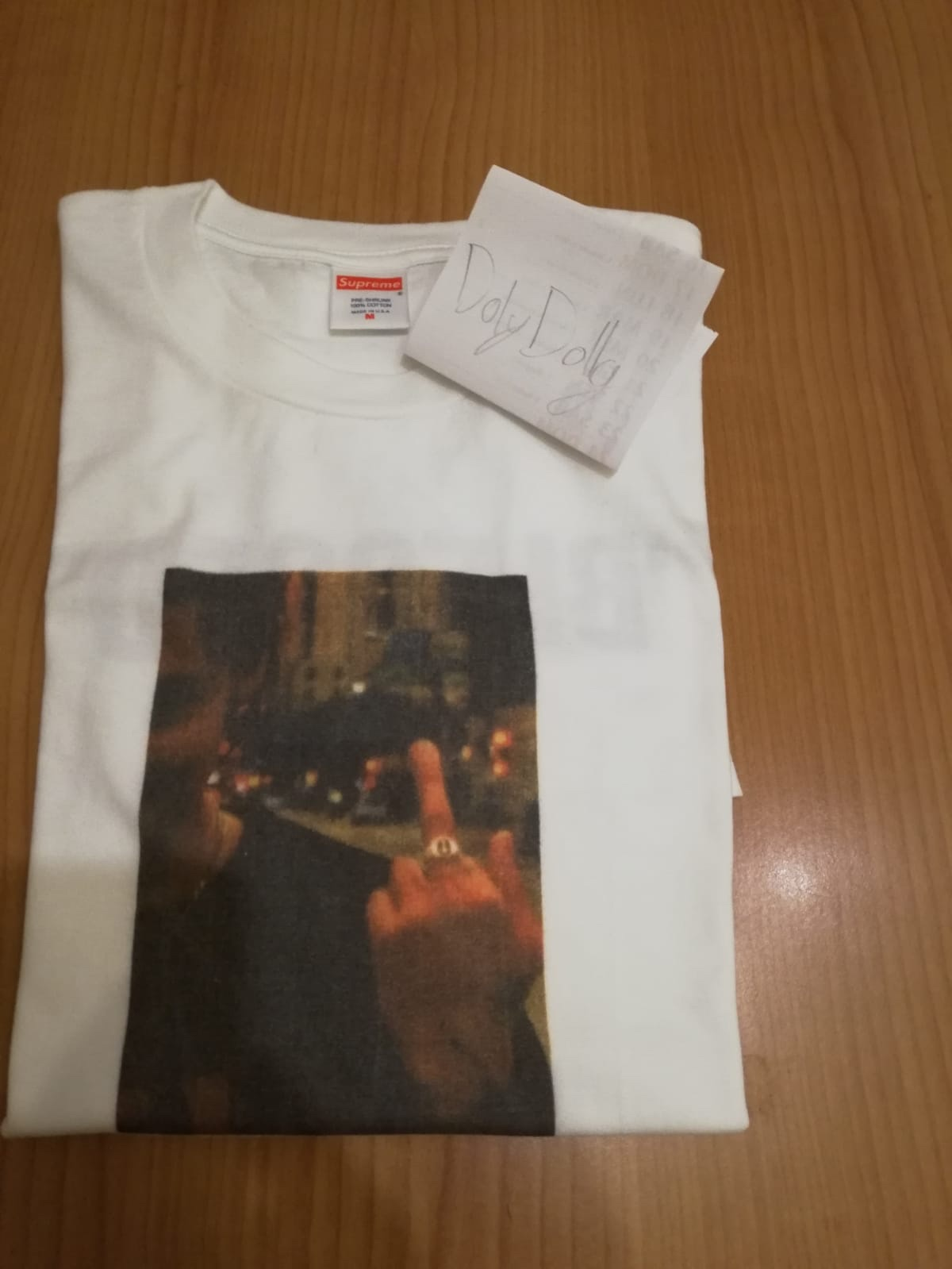 a445cacad0ff Wts supreme blessed tee fw18 - Meetapp