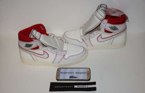 Nike Air Jordan 1 Phantom Sail University Red