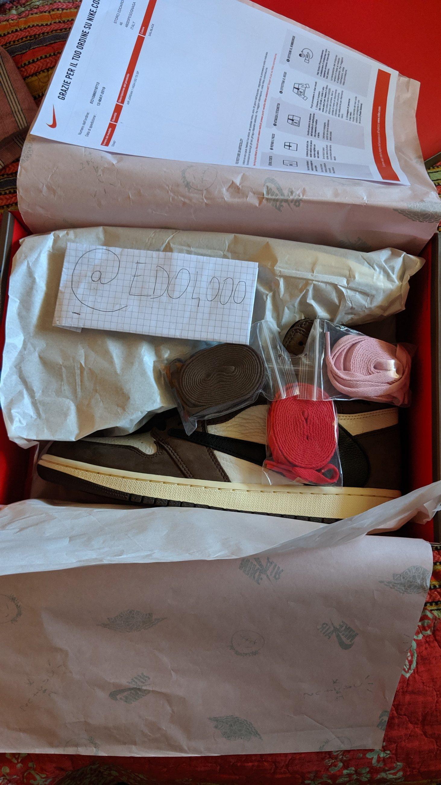 99a9b76fab7 Nike Air Jordan 1 Travis Scott - Meetapp