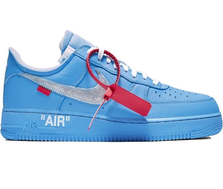 Air Force 1 Low Off white MCA Blue Meetapp