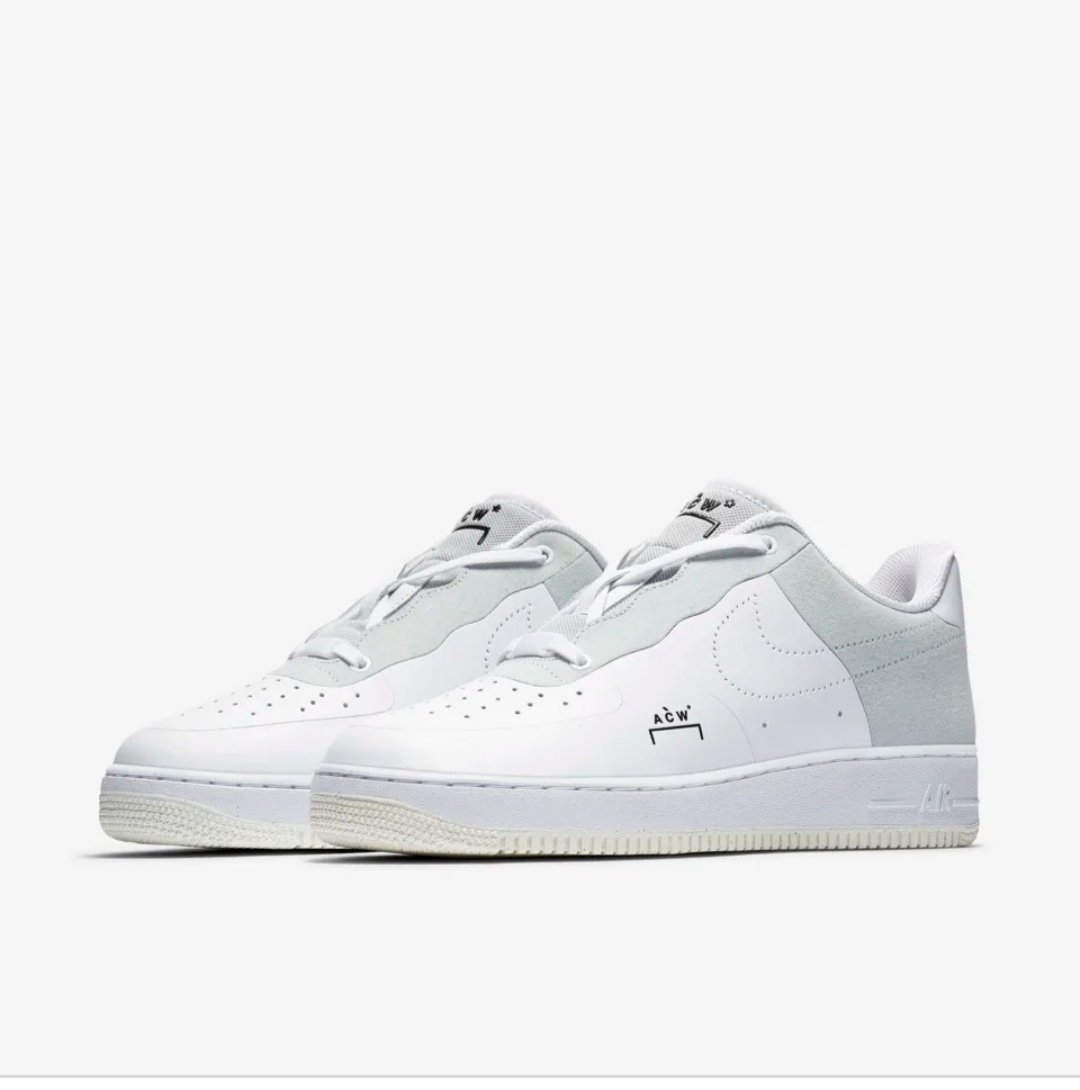Air force 1 x a cold wall Black or white Meetapp