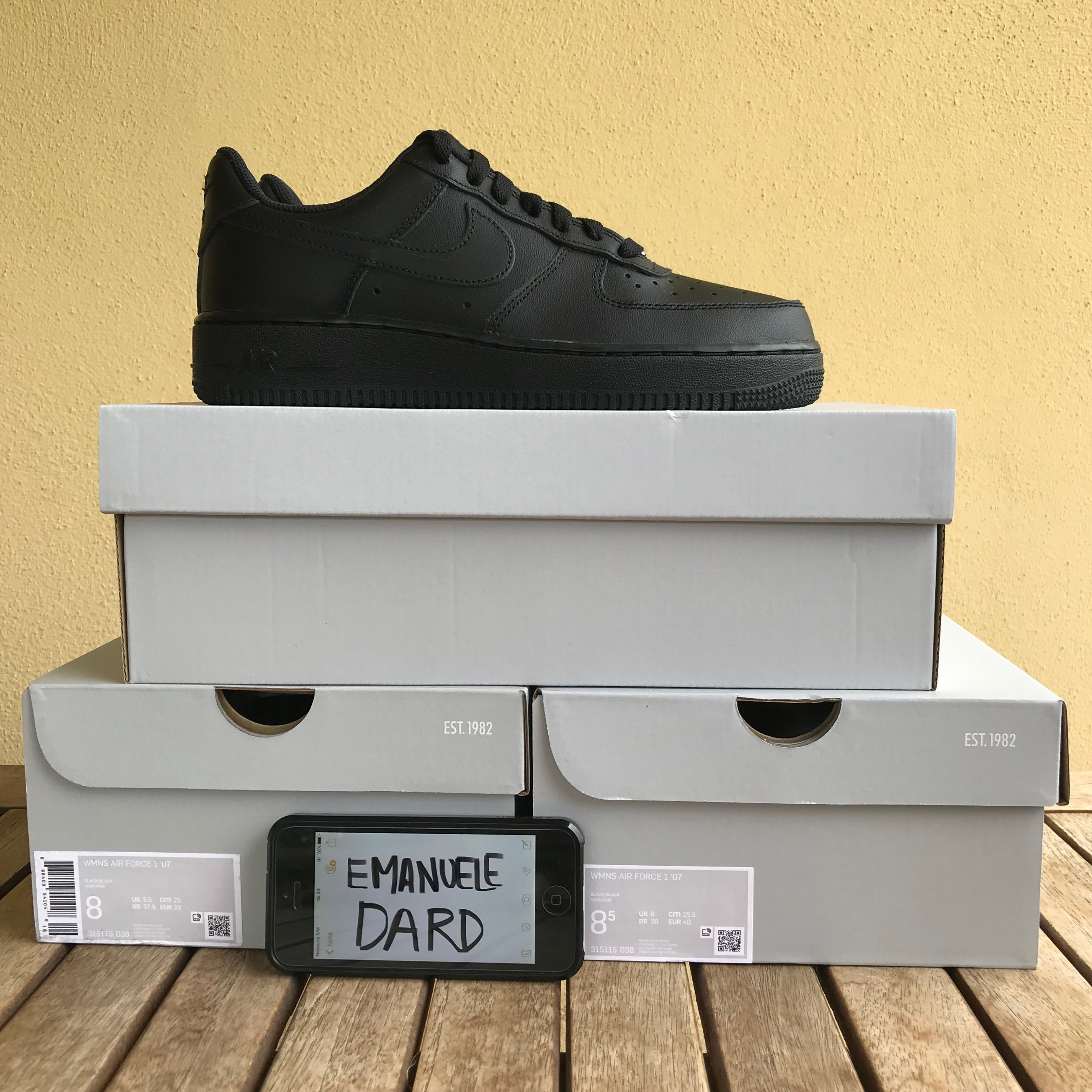 air force 1 nere e