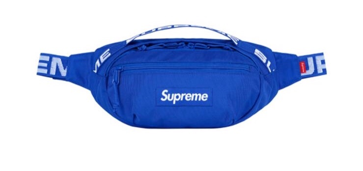 nuovo prodotto d96a2 8e80c Supreme waist bag Royal - Meetapp