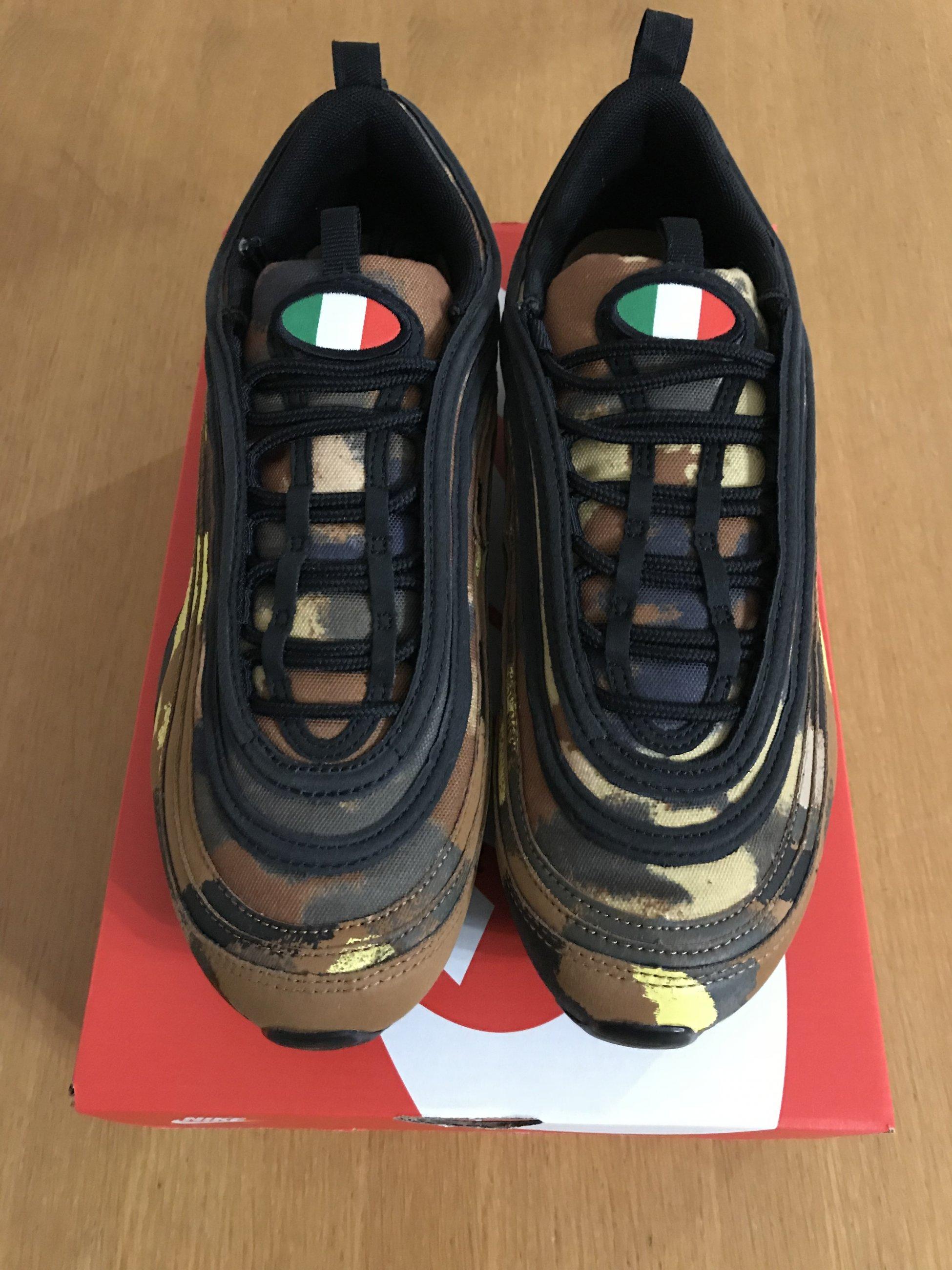 00dd50197 Nike Air Max 97 Premium QS international camo italy Edizione italiana Size  42,5