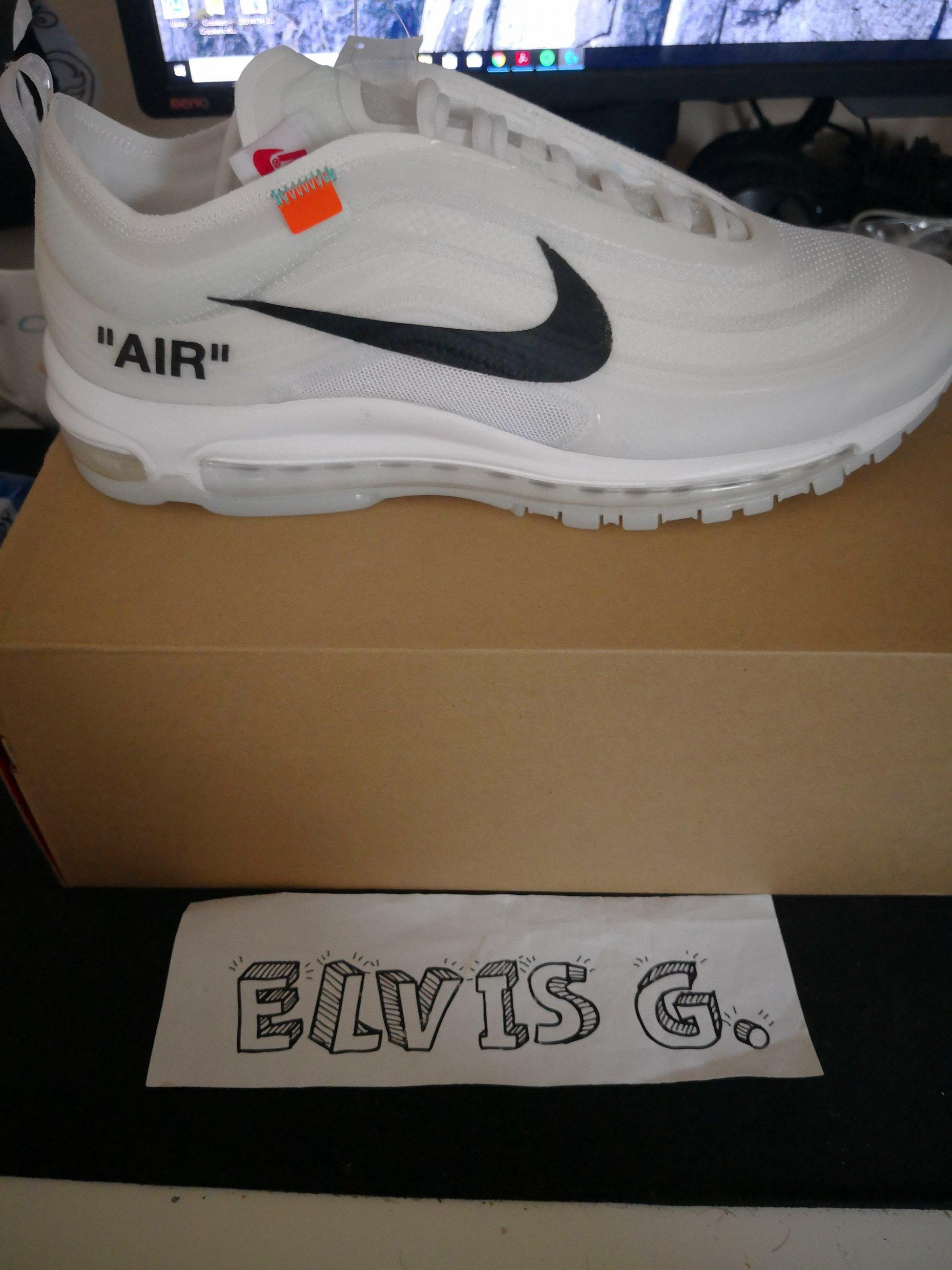 buy popular 59f70 e5dee Nike x Virgil Abloh - OFF WHITE - AIR MAX 97 OG - size 12US